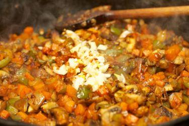 Pasta met vegetarische Ragu 33