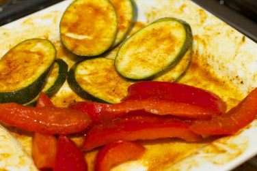 Broodje Thaise kip en gegrilde groente 11