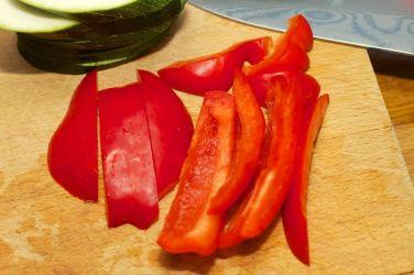 Broodje Thaise kip en gegrilde groente 8