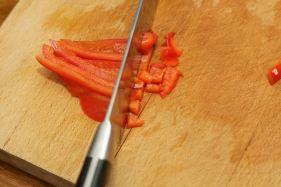 Hoe snij je paprika in stukjes 7
