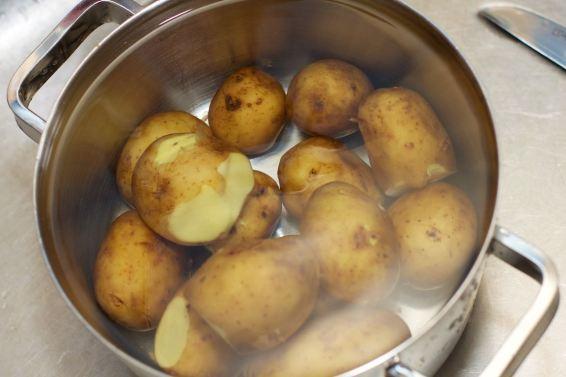 Platgeslagen aardappel 4