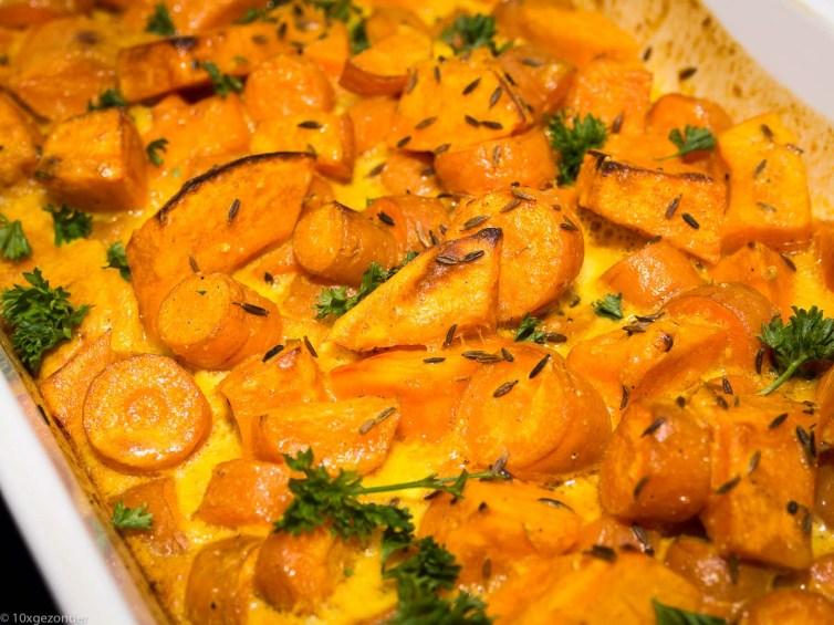 Ovenschotel met pompoen en wortel-43