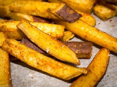 Zoete aardappel friet uit de oven-10