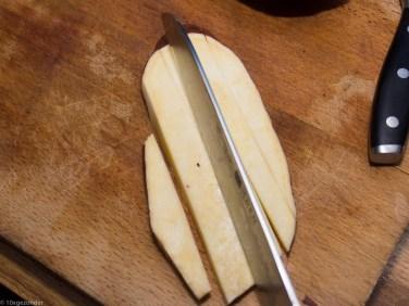 Zoete aardappel friet uit de oven-3