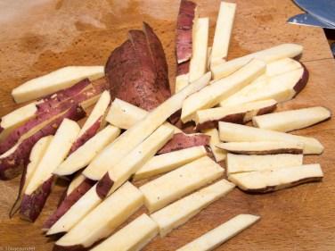 Zoete aardappel friet uit de oven-4