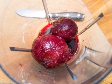 Roze pannenkoek met adzuki kiemen en mierikswortelsaus-3