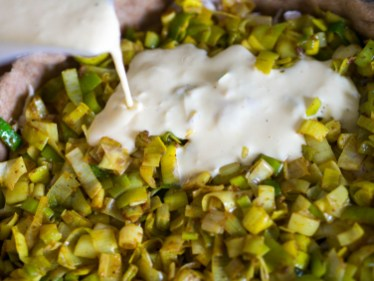Recept hartige taart- Preitaart met makreel-11