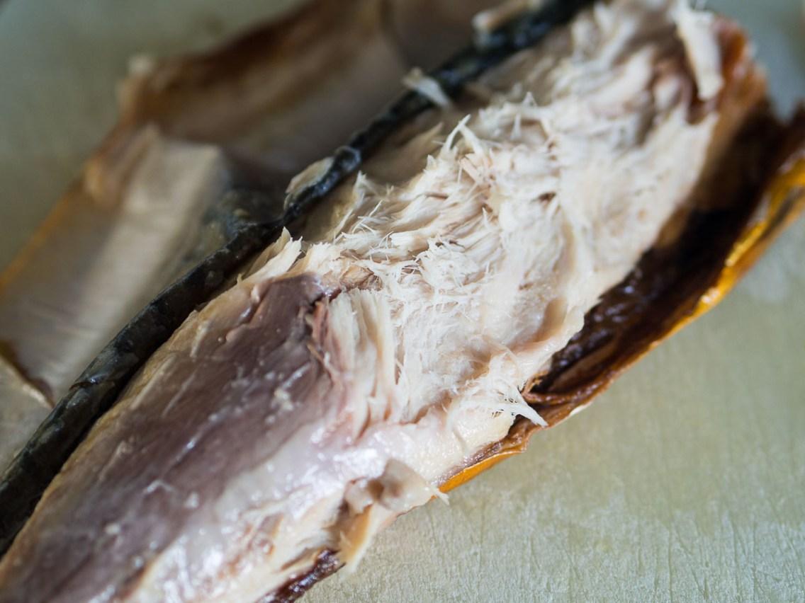 Recept hartige taart- Preitaart met makreel-5