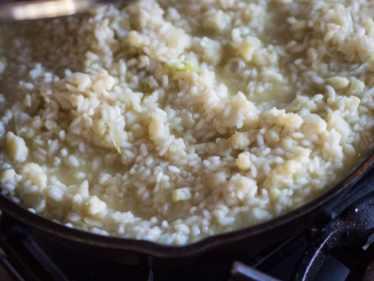Risotto met bloemkool en knapperige Parmaham-22