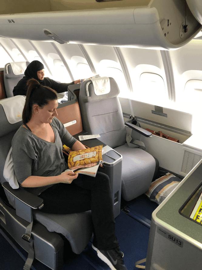 Flight Review Lufthansa Business Class From Washington D