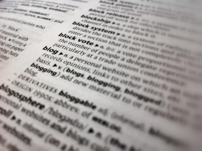 Définition dans un dictionnaire