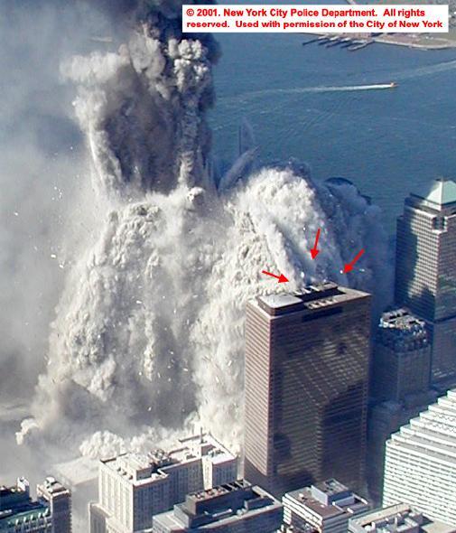 WTC7 och rasmassor