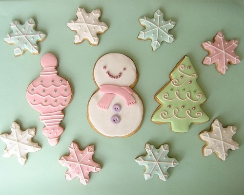 Christma sugar cookies! <3