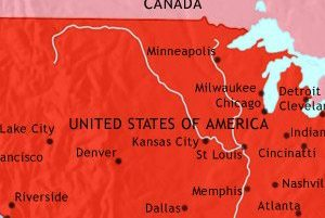 HD Decor Images » USA history 1914 Map of The USA at 1914CE