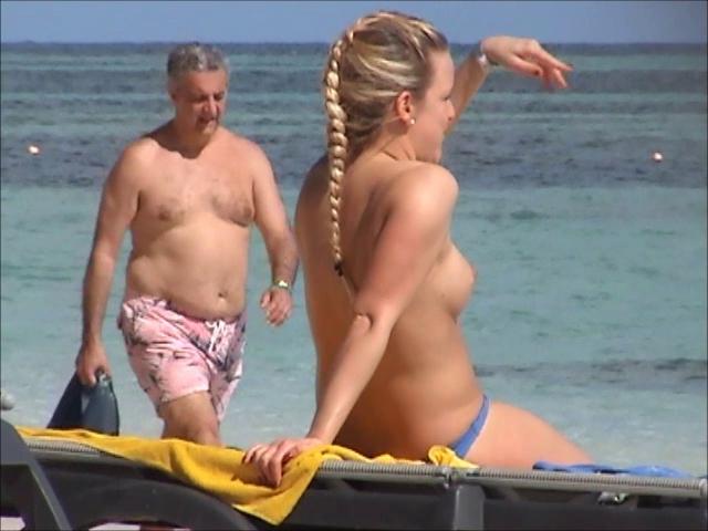 Beach Beauty 004 Incredible Two German Topless Punta Cana Part1 Txxx Com