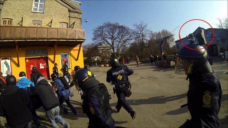 Arkiv foto. Københavns Politi.