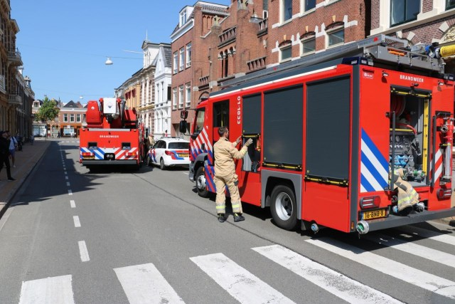 Brand in monumentaal pand groningen