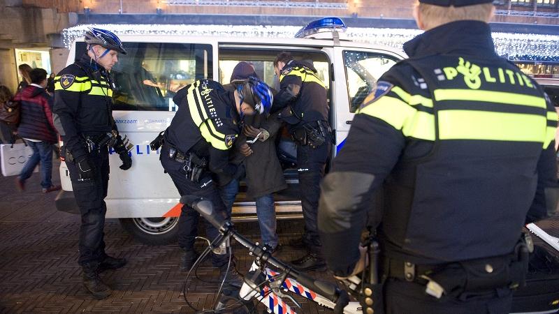 Politie achterhaalt doorrijder ongeval.