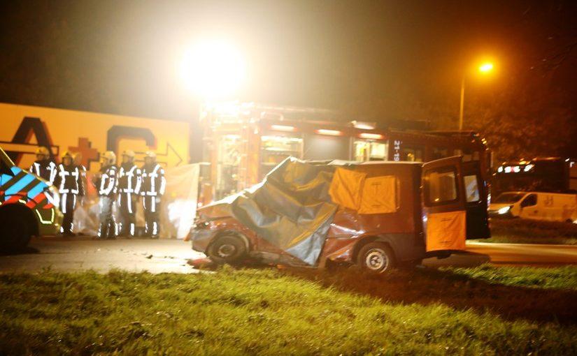 Dode bij ongeval op N65, vrachtwagenchauffeur aangehouden.