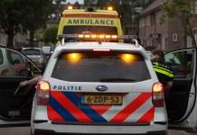 politiewagen met ambulance
