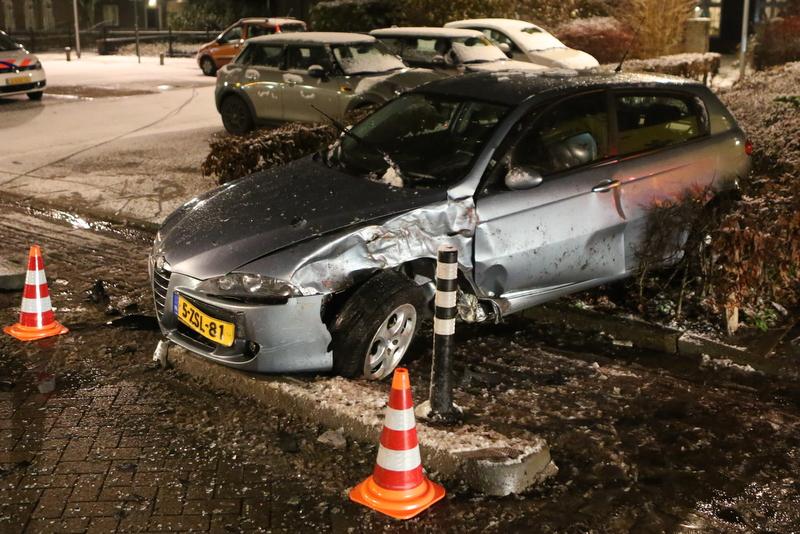 Gewonde bij ongeval in Nieuwkuijk.