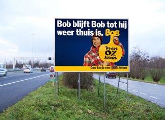 BOB reclamebord
