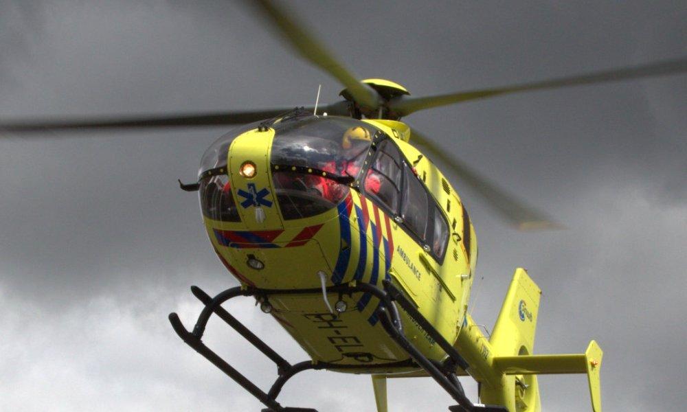 Wielrenner Niki Terpstra ernstig gewond na ongeluk.