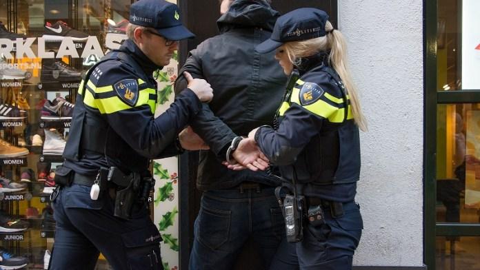 arrestatie winkeldief