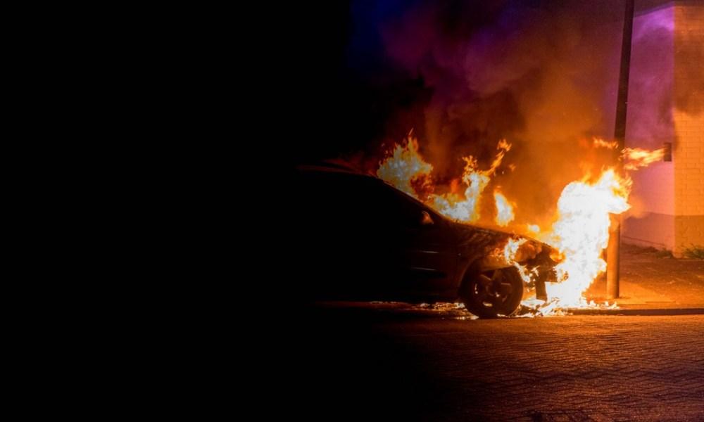 Man aangehouden brandstichting -.