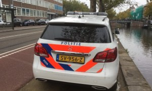 Mercedes politieauto