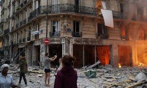 explosie Parijs