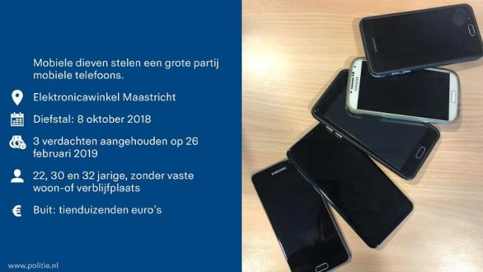 infographic diefstel mobiele telefoon