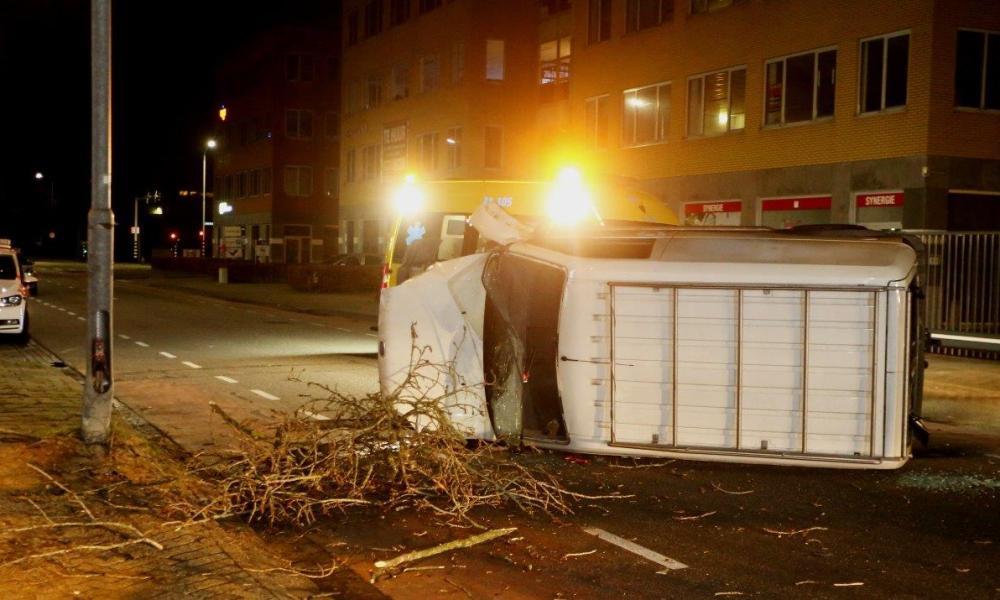 Vrouw gewond bij ongeval in Den Bosch.