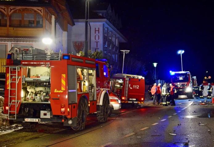 Zes toeristen dood bij ongeval in Zuid-Tirol.