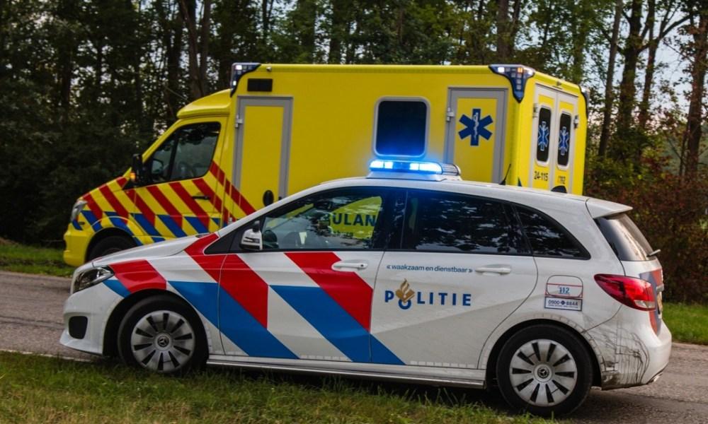 Automobilist overleden bij eenzijdig ongeval.