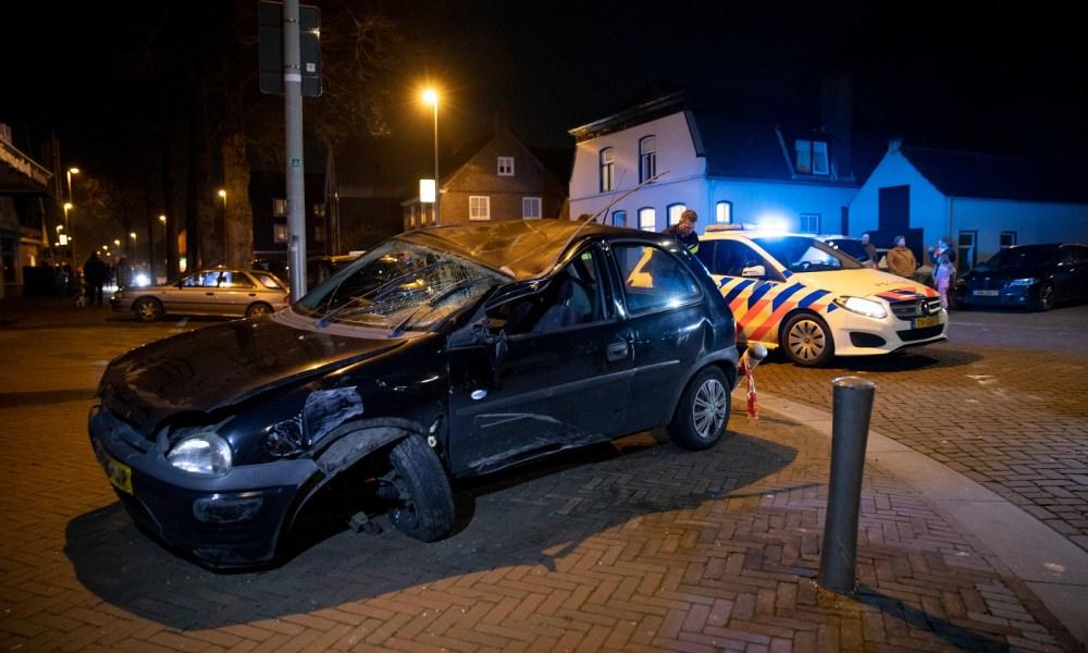 Gewonde bij ongeluk in Drunen.