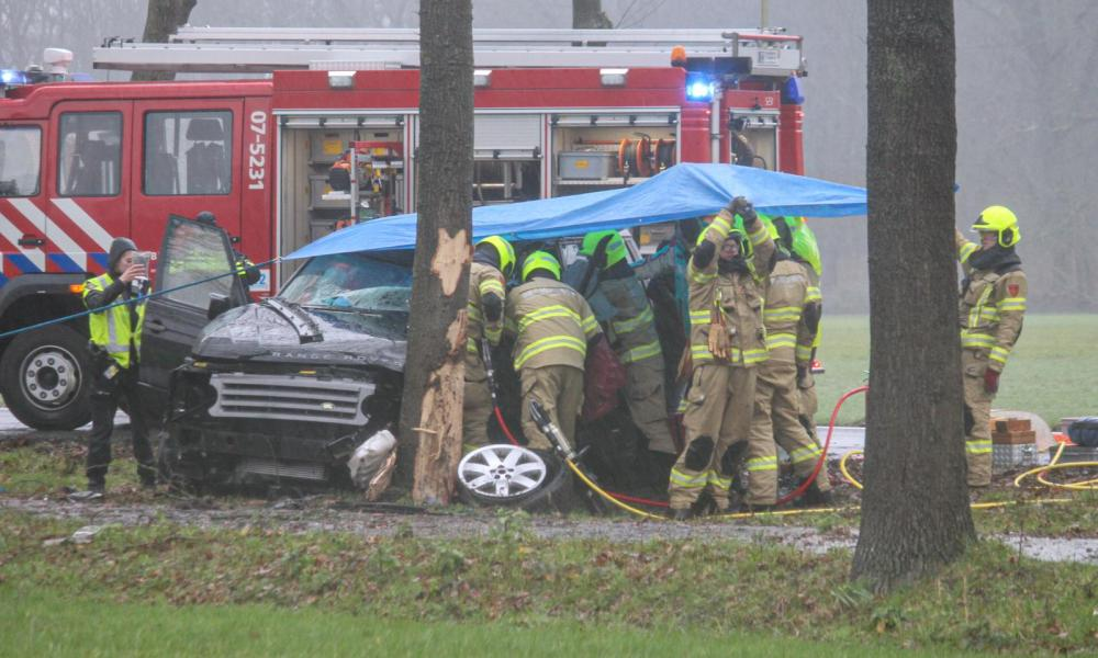 Meerdere gewonden bij ernstig ongeluk in Velp.