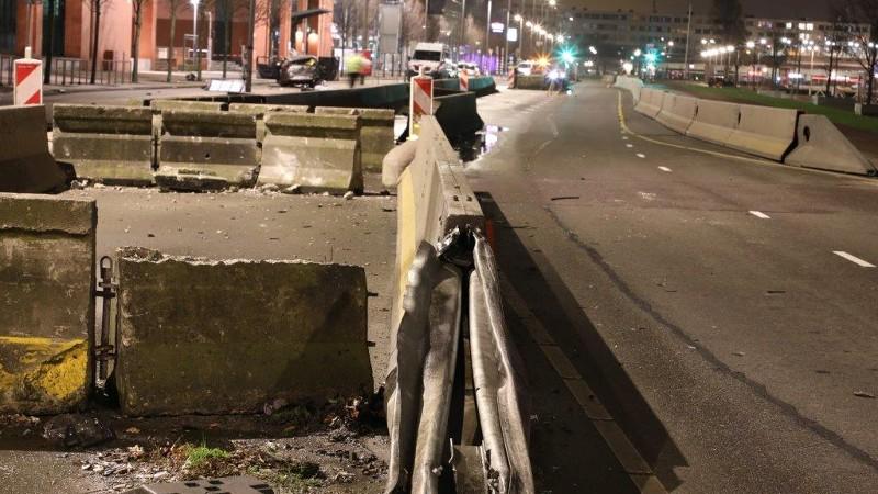 Gewonden ernstig ongeval Rotterdam buitenlevensgevaar.