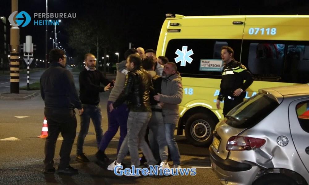Grimmige sfeer bij ongeval in Arnhem.