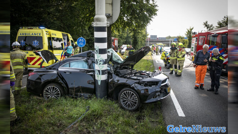 Man in kritieke toestand na ernstig ongeval in Arnhem.
