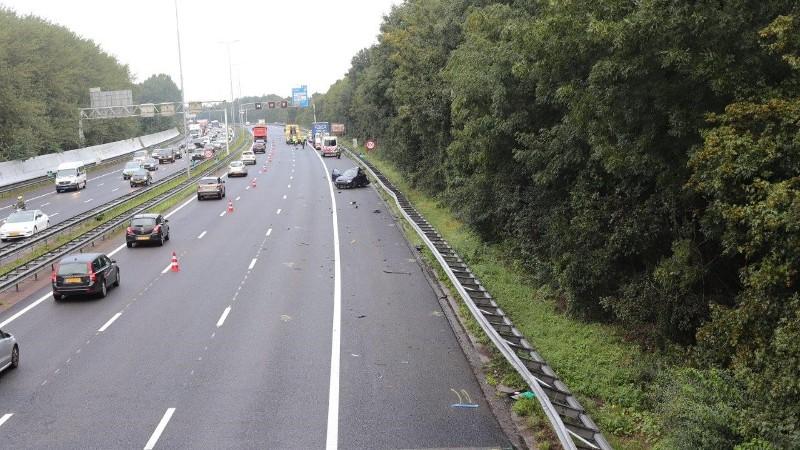 Ernstig ongeval A10.