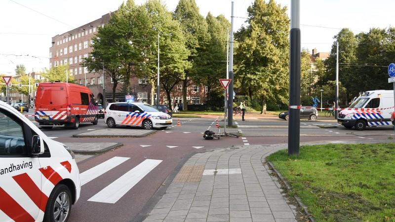 Fietser zwaargewond na botsing met andere fietser.