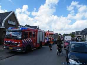 Het Twijver staat vol met diverse brandweer eenheden