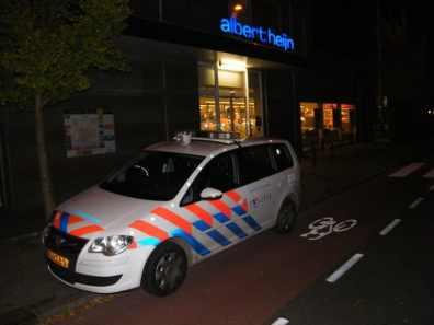 Politie bij de Albert Heijn