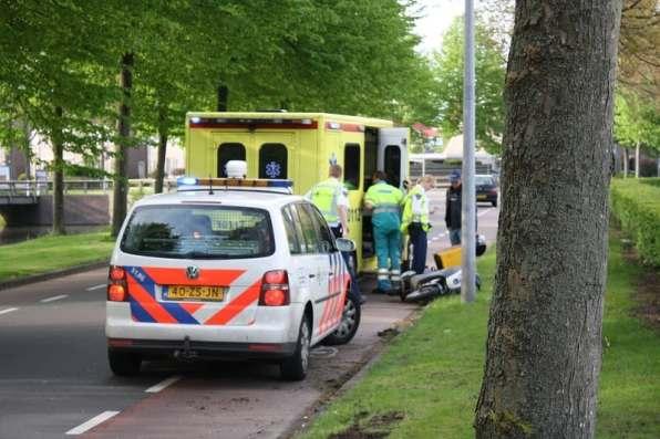 Het ongeval op de Scheldeweg in Hoorn