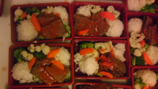 1132 Cafe Meatloaf Bento Boxes