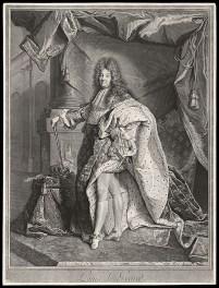 Pierre Drevet, Portrait de Louis le Grand, 1714-1715, BnF, Estampes et photographie