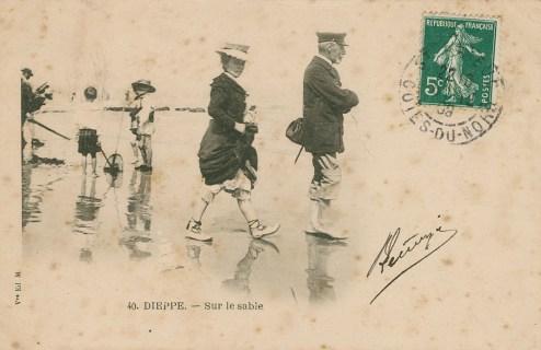Dieppe. CP 5593. Médiathèque du Grand Troyes. Photo P. Jacquinot