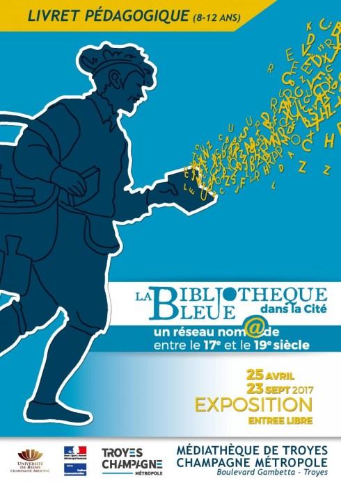 Couverture du Livret découverte à destination des enfants qui visiteront l'exposition. Photo Médiathèque de Troyes Champagne Métropole