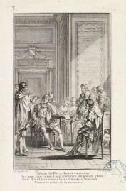 Thibault IV entouré de sa Cour, gravure de Le Mire, 1764, [ICONO 131-13]